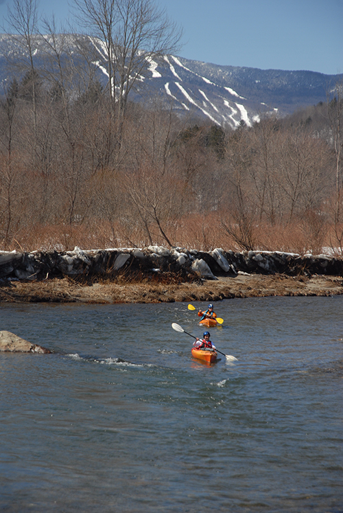 Sugarbush Adventure Games, kayaking. Photo: Sandy Macys