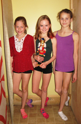 Valley girls dance the Nutcracker