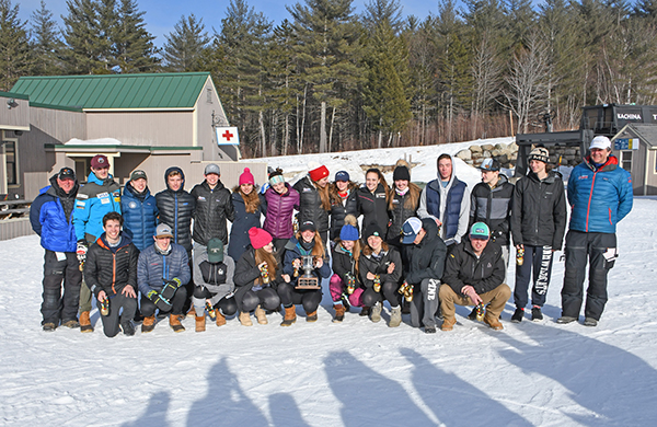The best high school alpine skiers from Vermont, including five from The Valley, won the Eastern High School Championships on March 11-12 at Attitash Mountain. Photo: John Williams