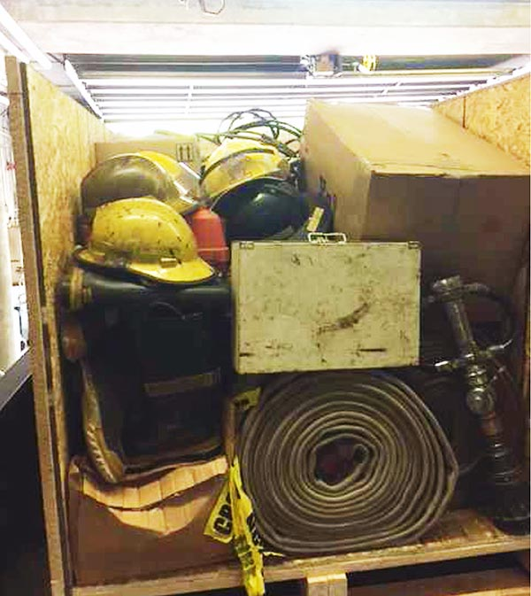 Warren Fire Equipment sent to La Paz