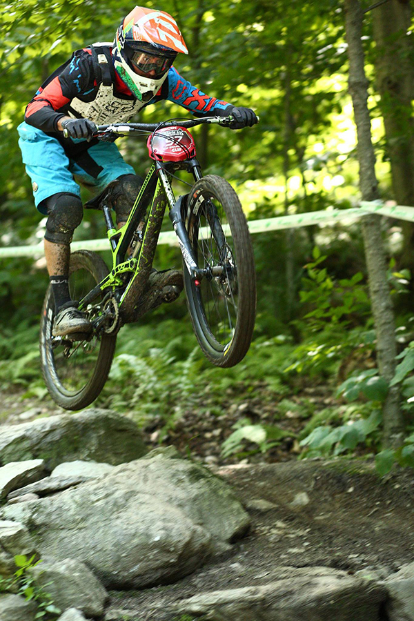 The Eastern States Cup Sugarbush Showdown series rider from this past Sunday's event. Photo: John Atkinson