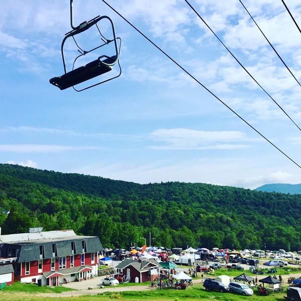 The Vermont Mountain Bike Festival returned to Sugarbush's Mt. Ellen for the second year in a row. Photo: Tony Chiuchiolo