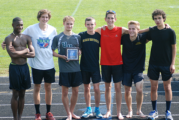 Harwood Boys Cross Country team. Photo: Laura Caffry