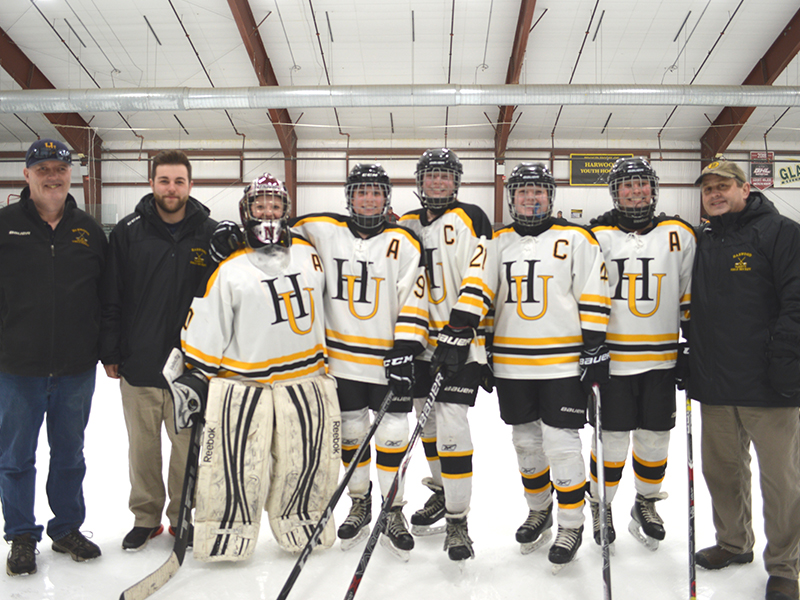 Harwood Girls' Hockey - HU 4, CVU 2