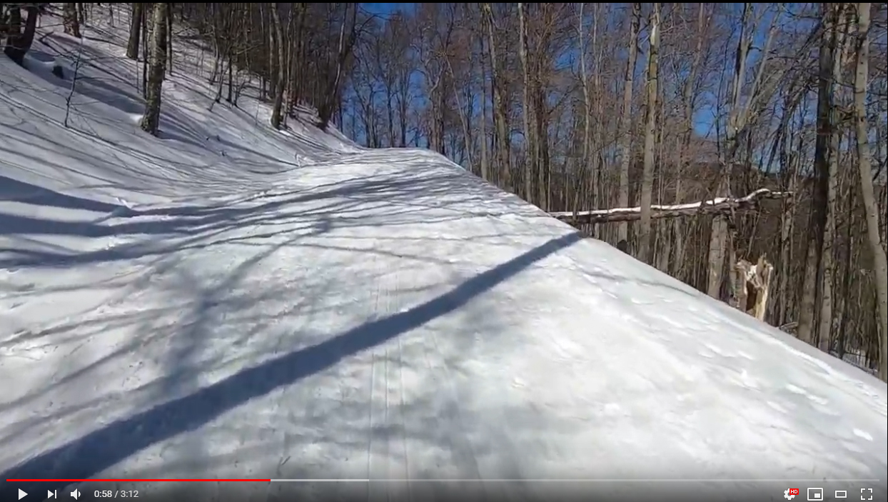 "Skiing The Steepest ""Paved"" Mile in The U.S."