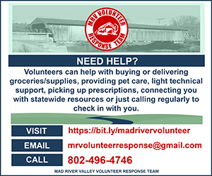 MAD RIVER VALLEY VOLUNTEER RESPONSE TEAM