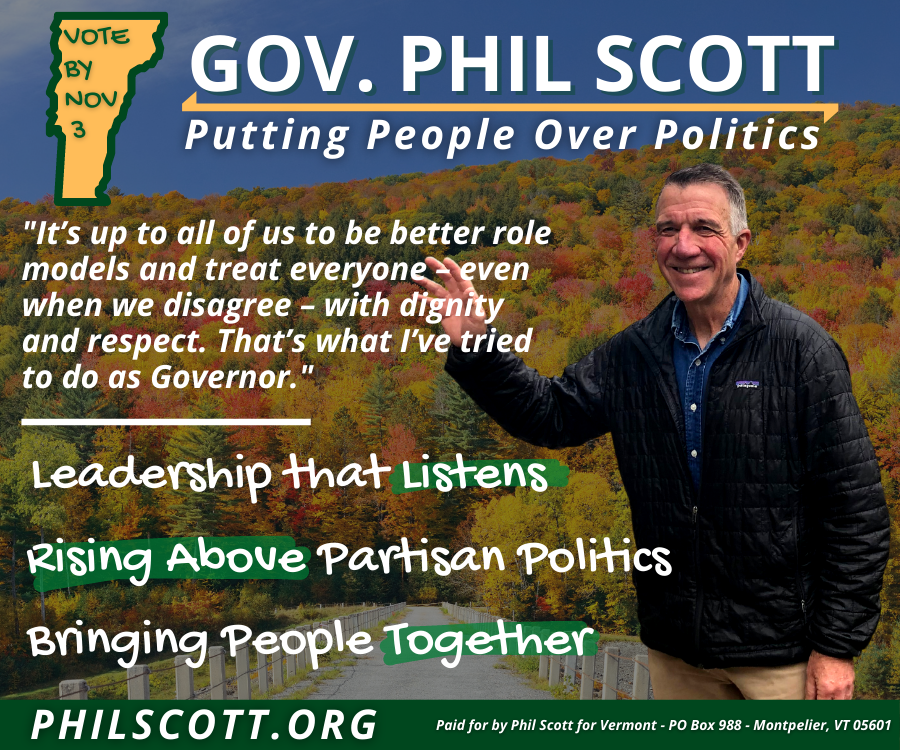 Phil Scott for Vermont