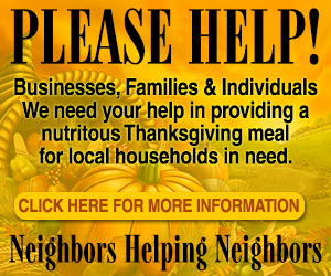 The Valley Reporter and Interfaith Council Annual Thanksgiving Food Drive