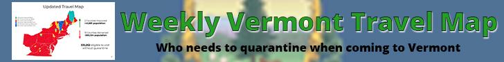 Vermont Travel map
