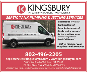 Kingsbury Construction Septic