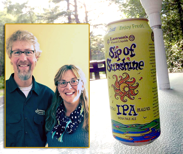 Sean and Karen Lawson plan opening a new brewery and retail space in Waitsfield.