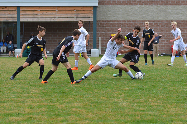 GMVS handed previously unbeaten Harwood their first loss during their meeting October 1. Photo: Chris Keating