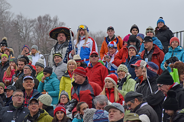 World Cup crowd at Killington. Photo: Jeff Knight