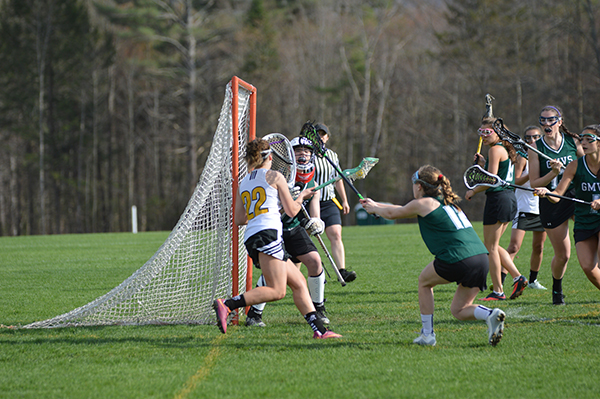 GMVS beat Harwood in girls lacrosse 11-6 on Monday, May 1. Photo: Chris Keating