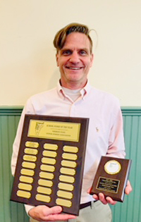 Clayton S. Wetzel III has been named Vermont School Nurse of the Year. Wetzel is nurse at Waitsfield Elementary School.