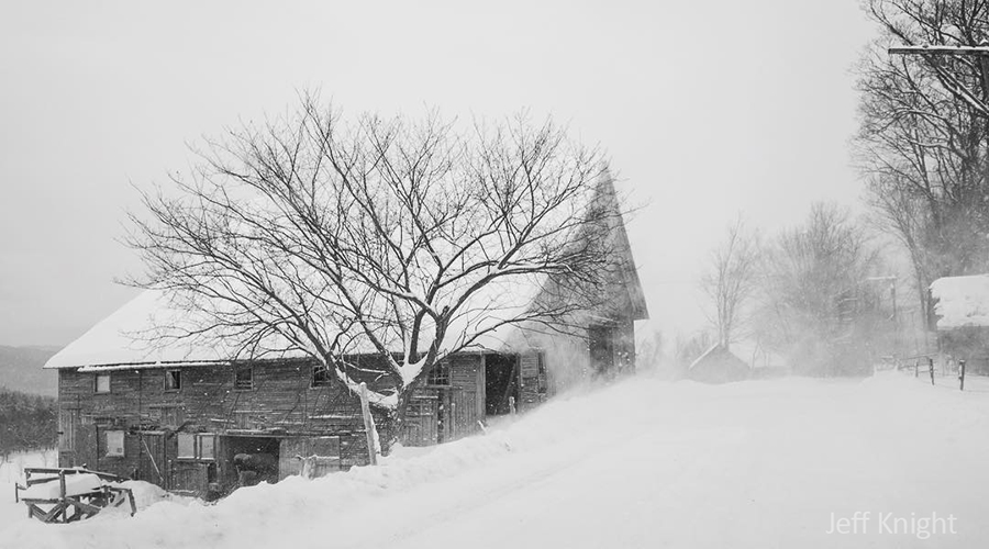 Winter storm Harper blanketed the Mad River Valley. Photo: Jeff Knight