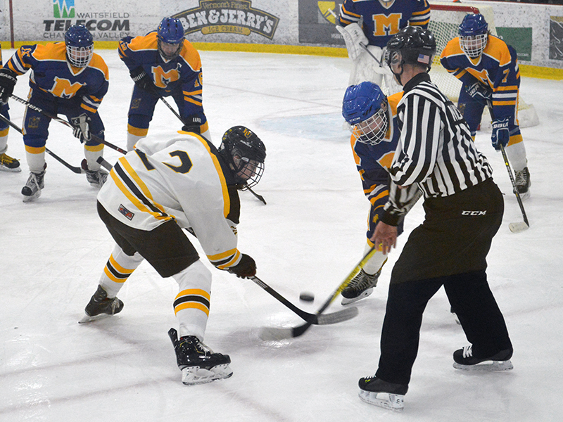 Harwood boys' ice hockey