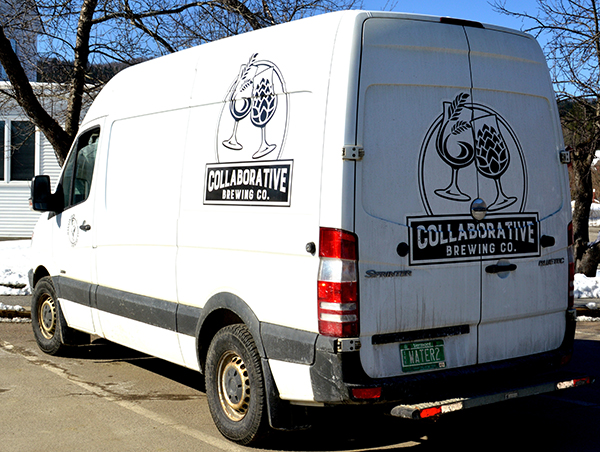 Collaborative Brewing Co. Van. Photo: Katie Martin