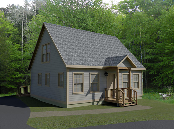 next habitat house HfH Rendering