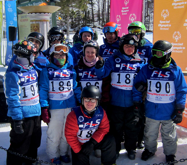 Local team competes at Special Olympics Winter Games
