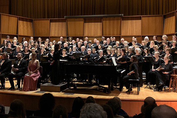 "The Mad River Chorale and the South Burlington Community Chorus performed ""Carmina Burana"" at the Flynn Theater and Harwood Union."