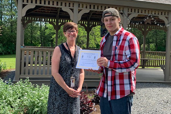 Liam Hale Adventure Scholarship awarded