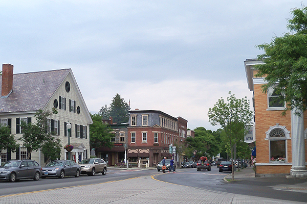 Downtown Woodstock VT