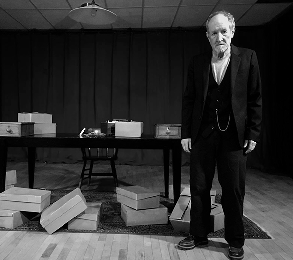 "Phantom Theater presents Samuel Beckett's ""Krapp's Last Tape,""  performed by Rob Donaldson. The play runs July 26 and 27 at 8 p.m."