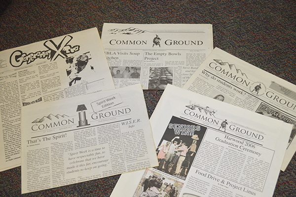 The Common Ground Harwood newspaper