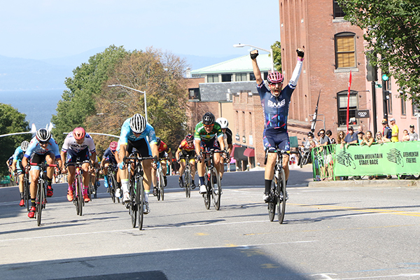 The fourth and final phase of the Green Mountain Stage Race, the Criterium, takes place on Labor Day in Burlington.
