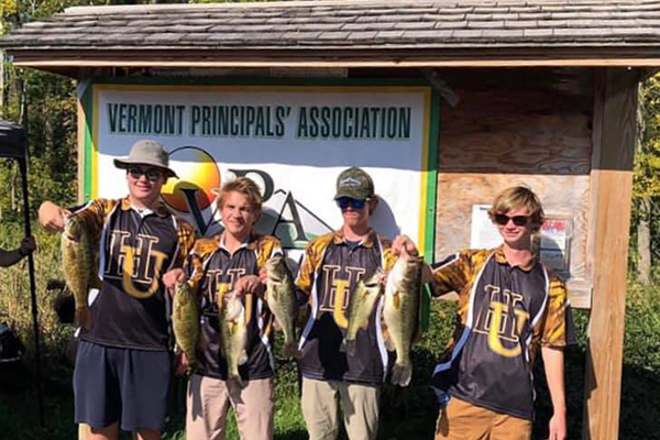 Harwood Union students can now compete in bass fishing, the newest club to be offered at the high school as of this fall.