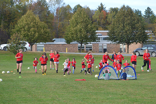 Photo: Katie Martin. The annual Mary Harris Youth Soccer Day had around 200 participants this year