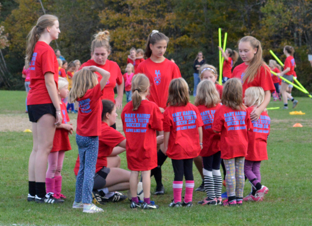 Mary Harris Soccer Day at Harwood Union High School