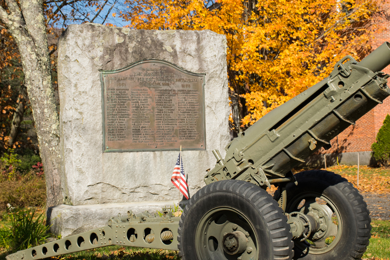 Civil War Memorial in Waitsfield, VT Photo: Jeff Knight