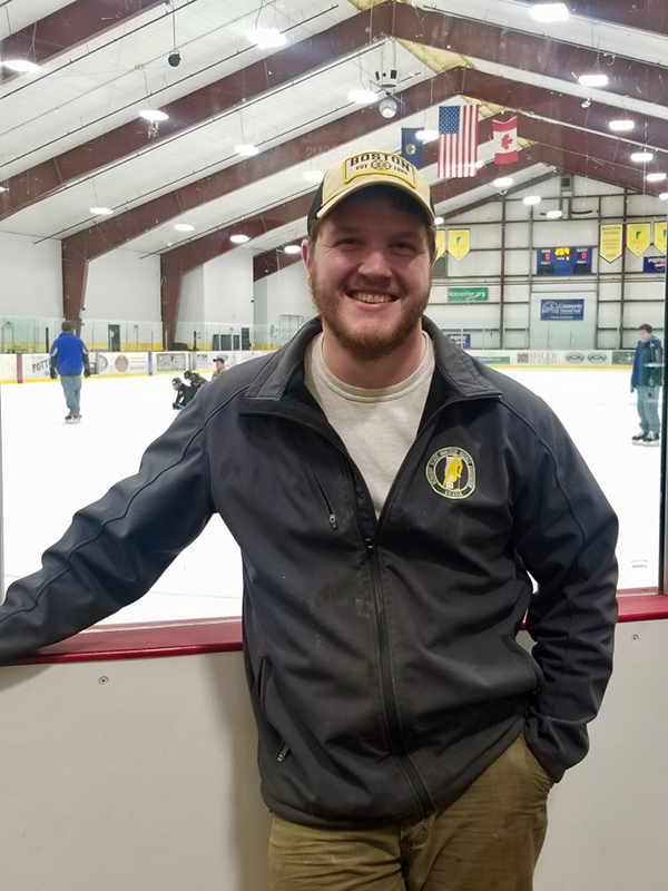 Grout is new Harwood hockey coach