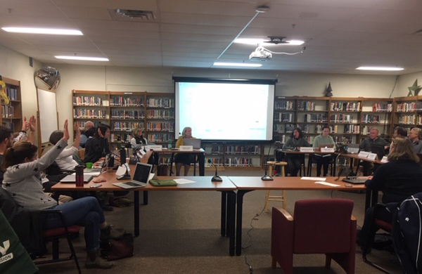 Harwood board moves forward