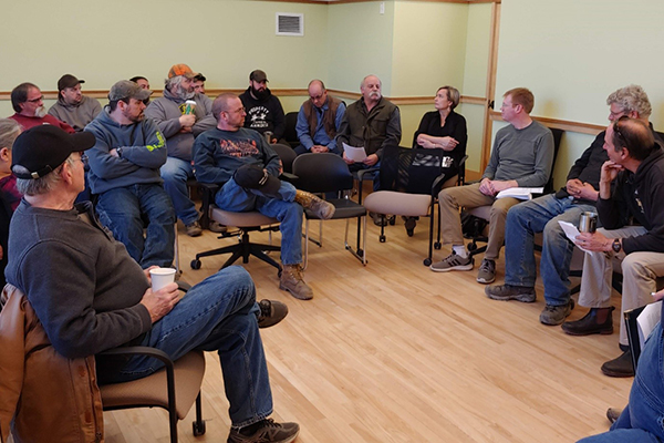 A recent Road Roundtable hosted by Ridge to River Initiative and select board members brought all five Valley road crews together to discuss shared challenges and emerging solutions to runoff and erosion problems.
