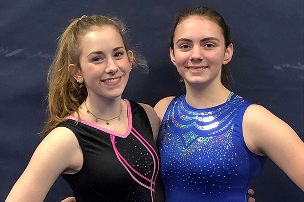 Lynn Russell and Delana Cheney  placed first and second, respectively, on the vault at a January 4 meet against South Burlington. At the same meet, Cheney placed first on bars and beam and Russell took second on both. Cheney came away with a top spot on floor