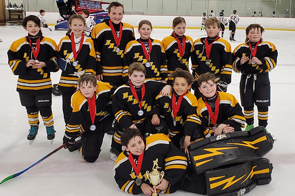 Harwood Youth Hockey takes second place