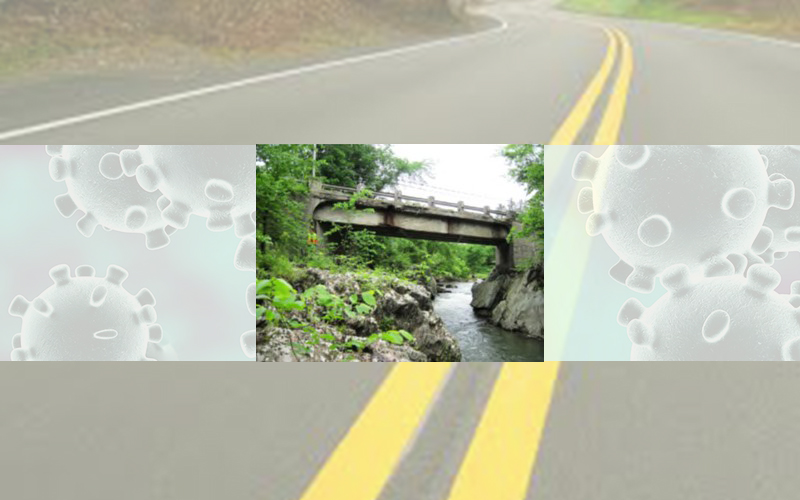 Route 100B bridge closes June 22