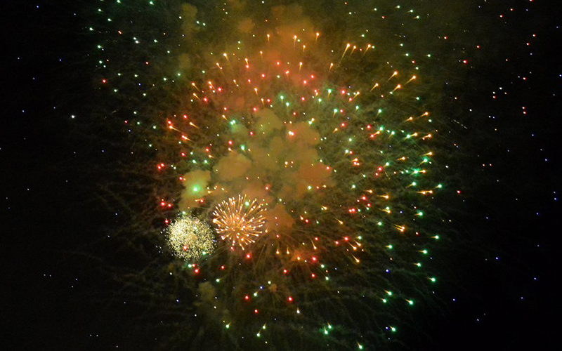 Sugarbush Fourth of July fireworks. File photo