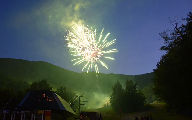 Sugarbush hosts socially distant Fourth of July fireworks celebration