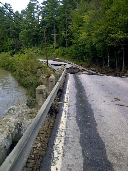 Moretown Bridge on Route 100B south of the village. File photo.